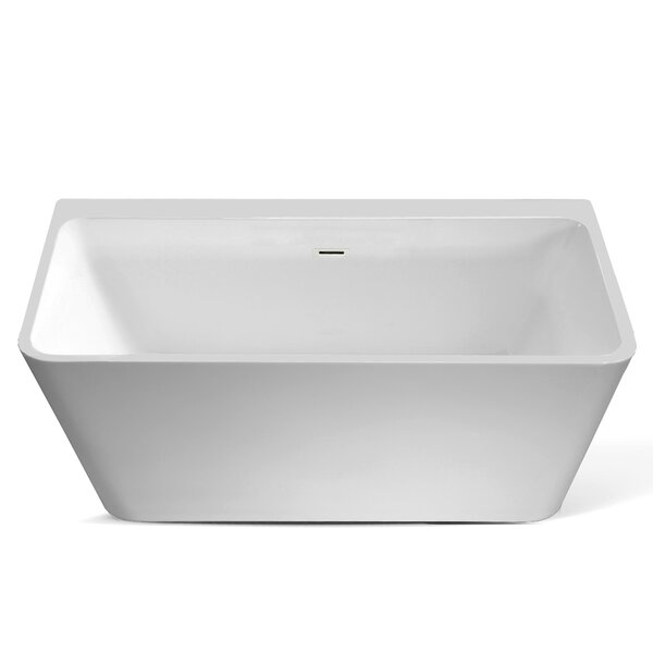 Vermont 59 x 30 Freestanding Soaking Bathtub by Jade Bath