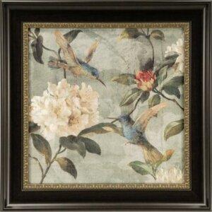 Ashton Art & Décor Birds of a Feather I Framed Painting Print by Astoria Grand