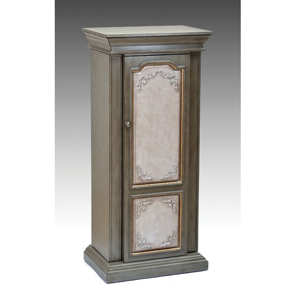 Io Free Standing Jewelry Armoire with Mirror by One Allium Way