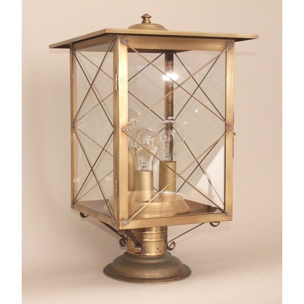 Crosby 3-Light Post Lantern Head by Gracie Oaks