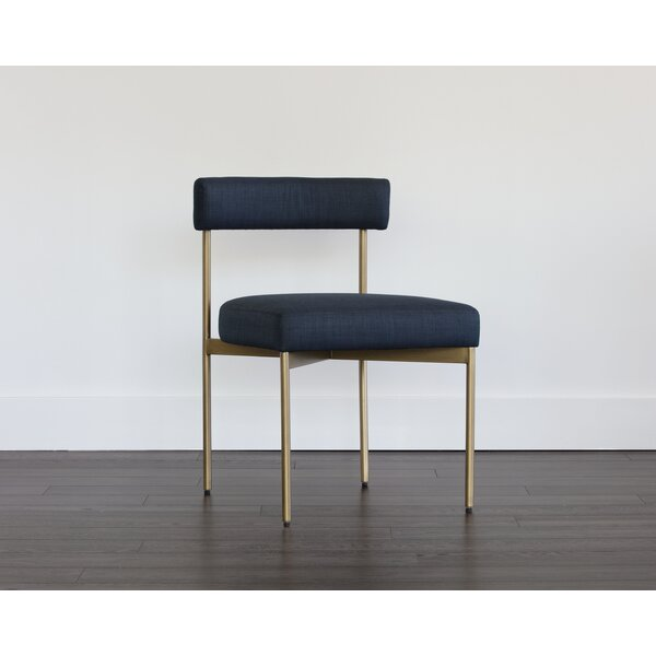 Zenn Upholstered Dining Chair (Set of 2) by Sunpan Modern