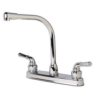 Builders Shoppe RV Mobile Home Double Handle Standard Kitchen Faucet