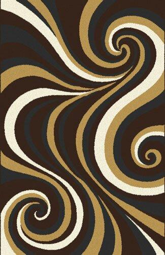 Mikkelsen Dark Brown Area Rug By Orren Ellis.