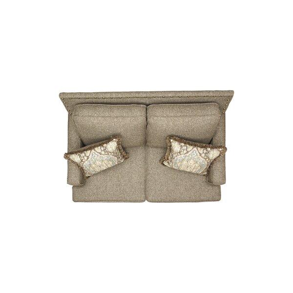 Currahee Upholstery Cuddle Standard Loveseat by Red Barrel Studio