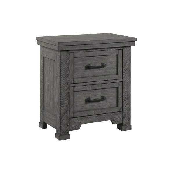 Tandy 2 Drawer Nightstand by Gracie Oaks