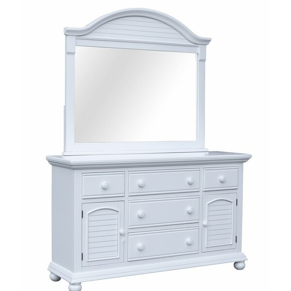 Kailyn 5 Drawer Combo Dresser with Mirror by August Grove