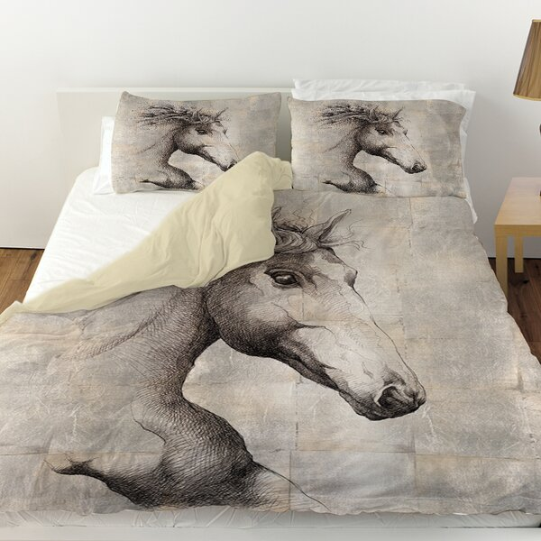 Run with the Wind Duvet Cover by Manual Woodworkers & Weavers