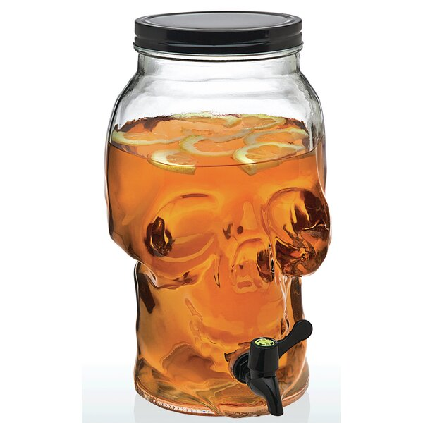 Skull 156 Oz Beverage Dispenser By The Holiday Aisle.
