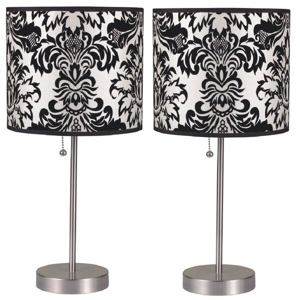 Geraldine Pull 18.5 Table Lamp (Set of 2) by House of Hampton