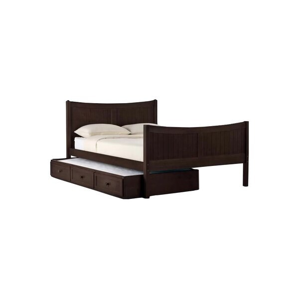 Nickelsville Panel Bed with Drawers by Three Posts Baby & Kids