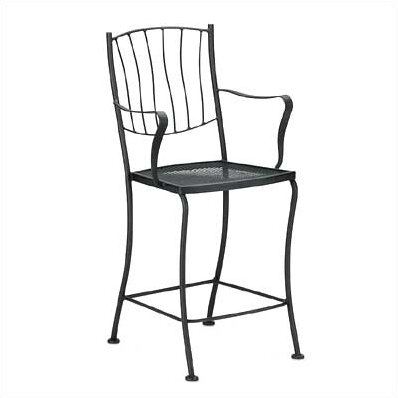 Aurora 24 Patio Bar Stool by Woodard
