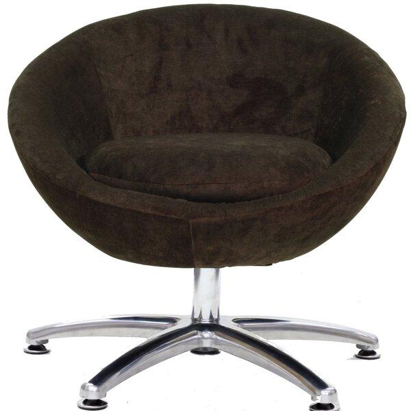 Overman Swivel Barrel Chair by Fox Hill Trading