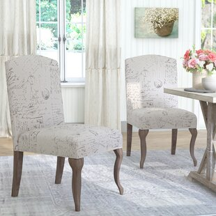 LaSalle Upholstered Parsons Chair (Set of 2) by Lark Manor