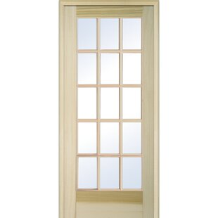 Wood Natural Interior French Door