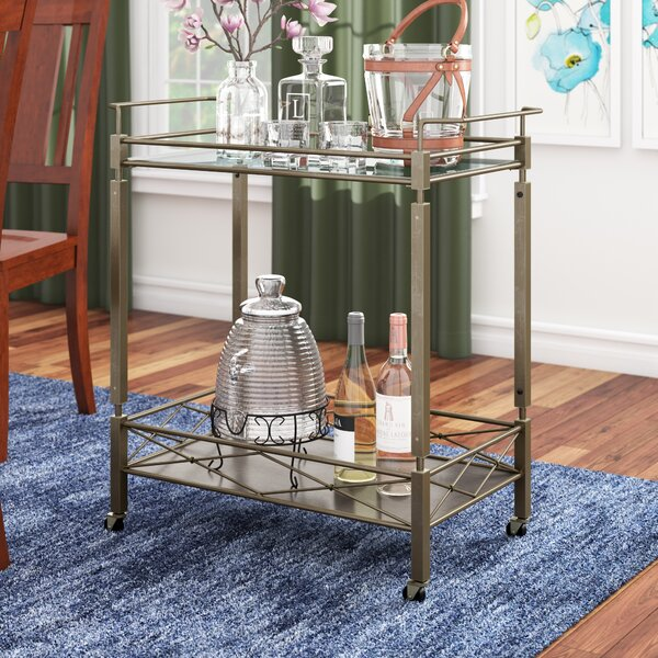 Tepper Bar Cart by Charlton Home Charlton Home