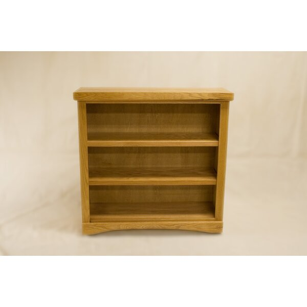 Cusack 2 Shelf Traditional Standard Bookcase by Darby Home Co