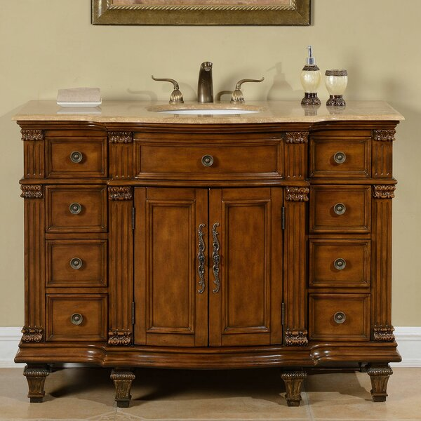 Kellar 48 Single Sink Cabinet Bathroom Vanity Set by Astoria Grand