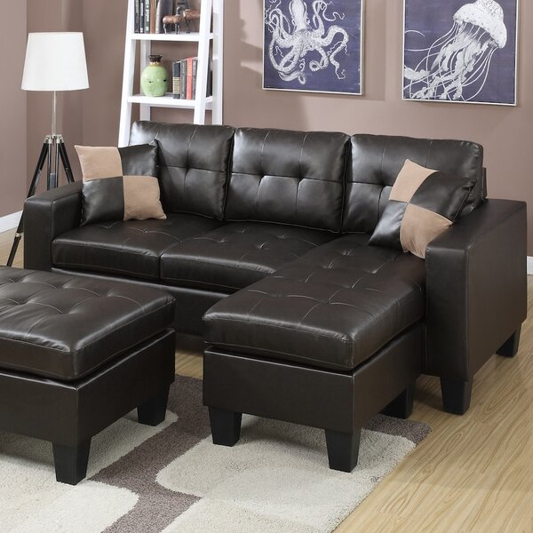 Internet Shopping Wendover Reversible Sectional by Ebern Designs by Ebern Designs