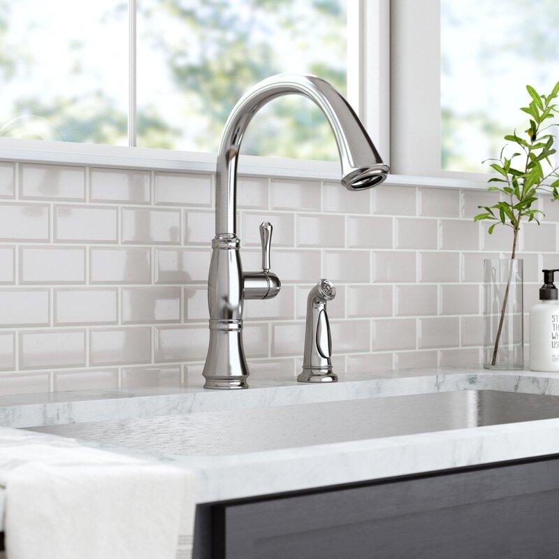 4297 Dst Cz Dst Ar Dst Delta Cassidy Single Handle Kitchen Faucet