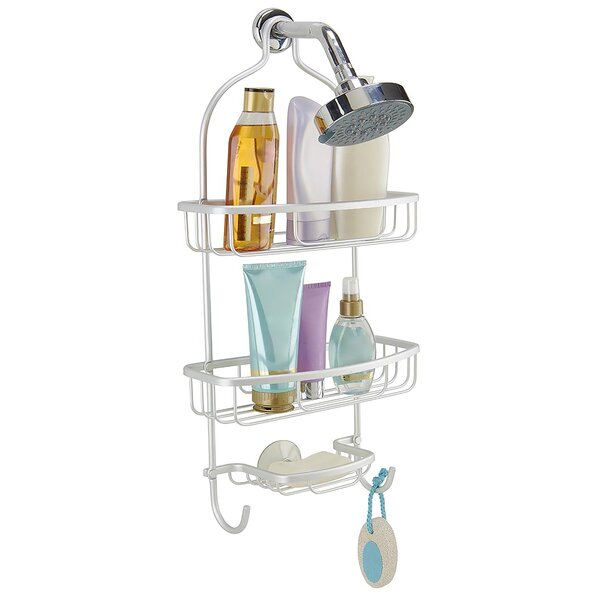Flat Wire Shower Caddy by Rebrilliant