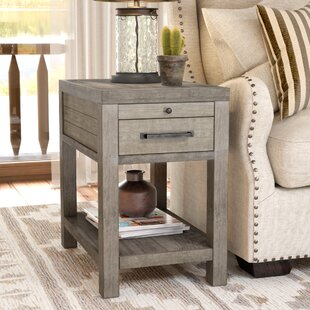 Bargain Brianne End Table By Union Rustic