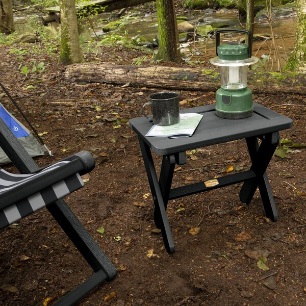 Arabella Folding Plastic Side Table by ELK OUTDOORS®