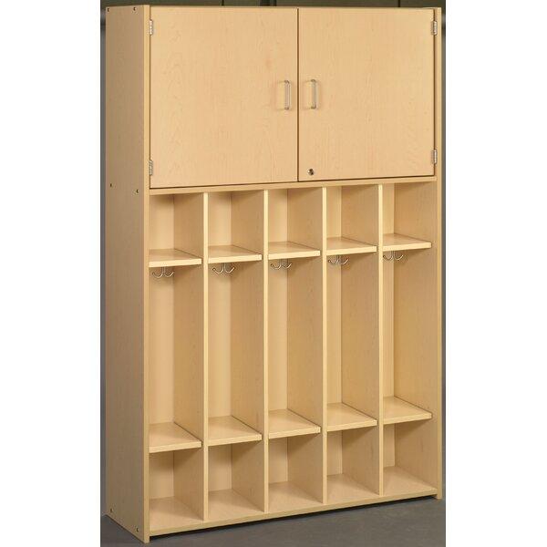 2000 Series 5 Section Coat Locker by TotMate2000 Series 5 Section Coat Locker by TotMate