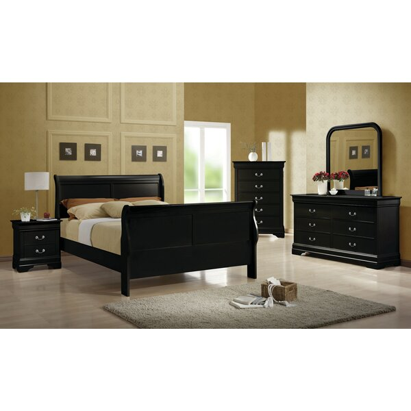 Melcher Sleigh Configurable Bedroom Set By Canora Grey