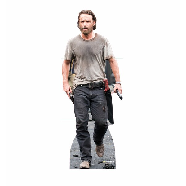 The Walking Dead Rick Grimes Life Size Cardboard Cutout by Advanced Graphics