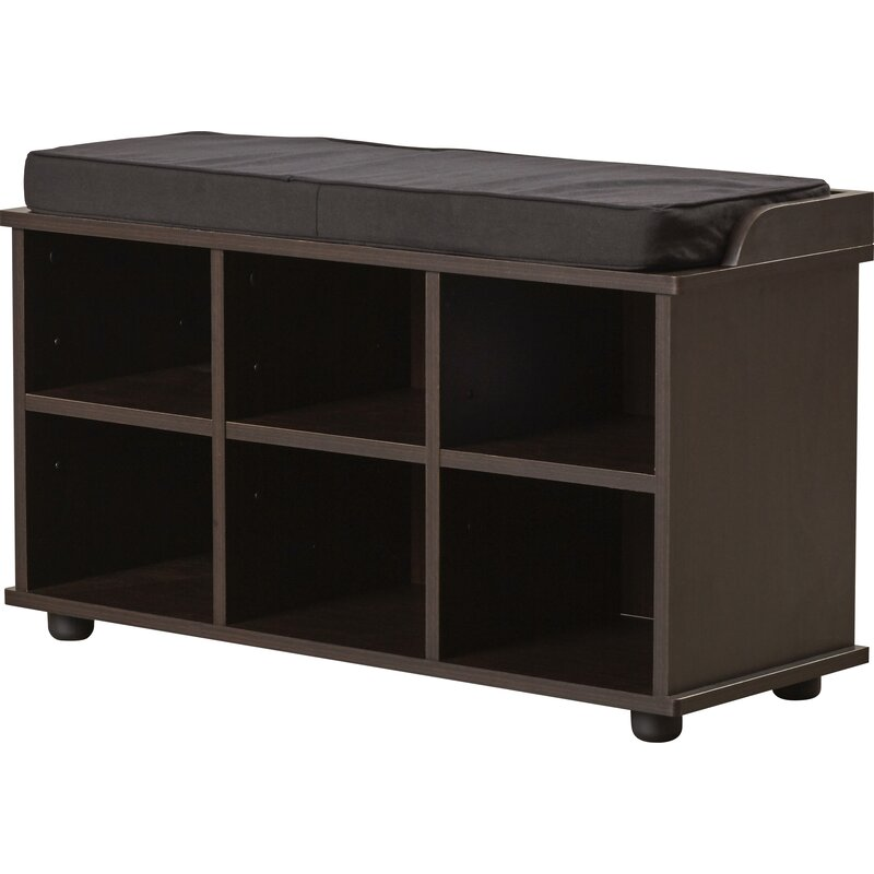 Incroyable Arch Hill 6 Cubby Storage Bench