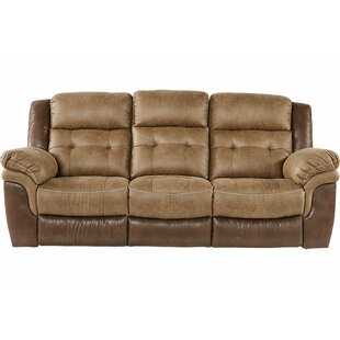 Heider Reclining Sofa Red Barrel Studio