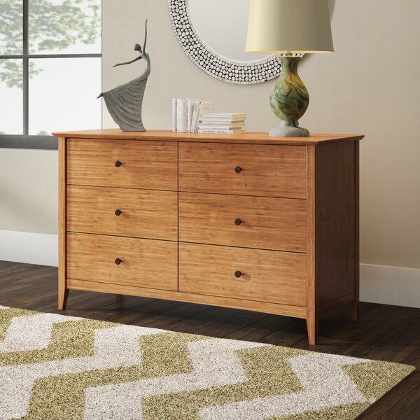 Ethelsville 6 Drawer Double Dresser by Wrought Studio