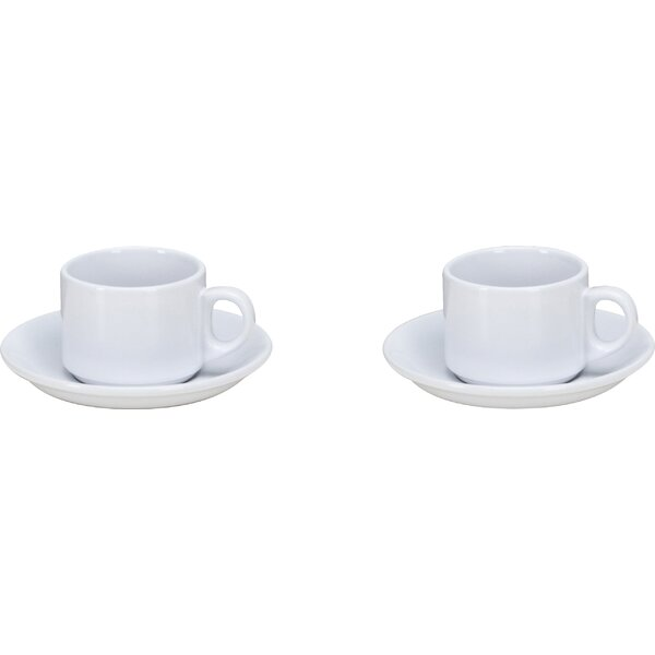 Espresso Mug Set (Set of 2) by Omniware