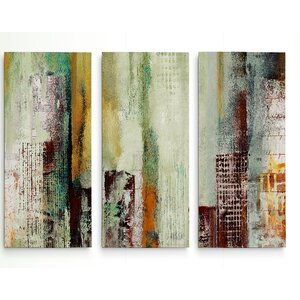 'Variation' Acrylic Painting Print Multi-Piece Image on Wrapped Canvas by Williston Forge
