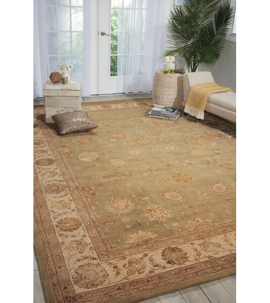 Seymour Light Green Area Rug by Darby Home Co