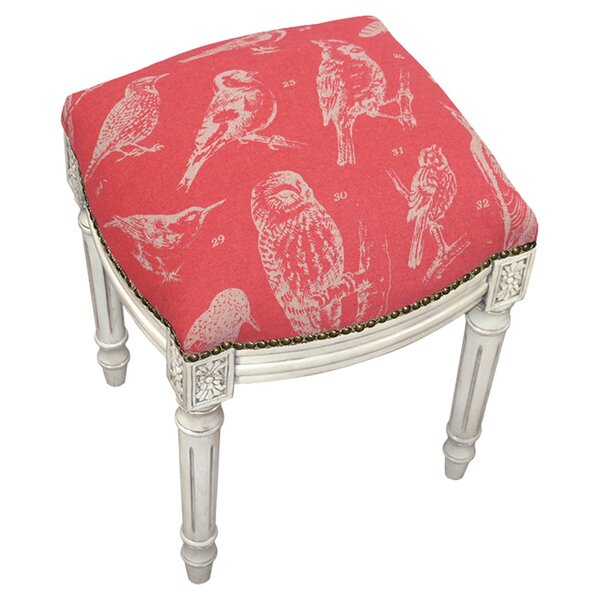 Amelia Accent Stool by 123 Creations