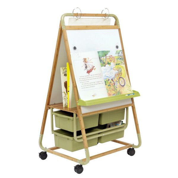 Bamboo Magnetic Board Easel by Copernicus