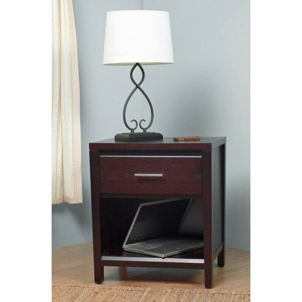 Olivares Wooden Nightstand by Williston Forge