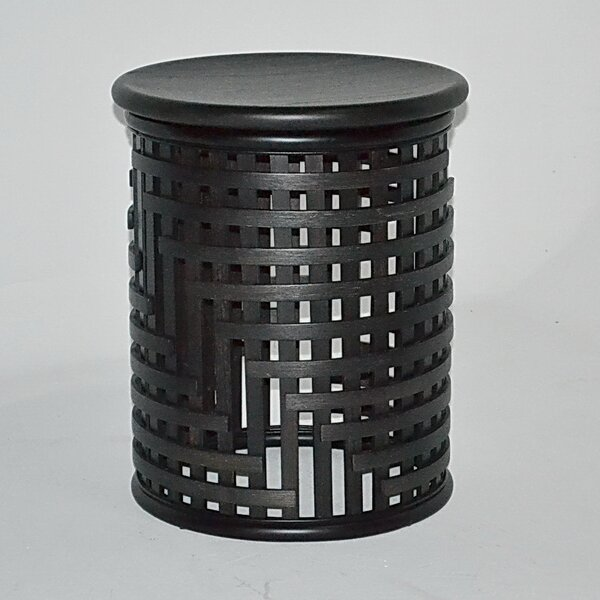 Lattice End Table by Indo Puri