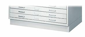 Facil Flat File Closed Base by Safco Products Company