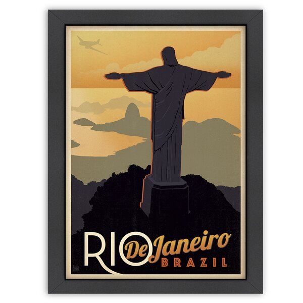 Rio Framed Vintage Advertisement by East Urban Home