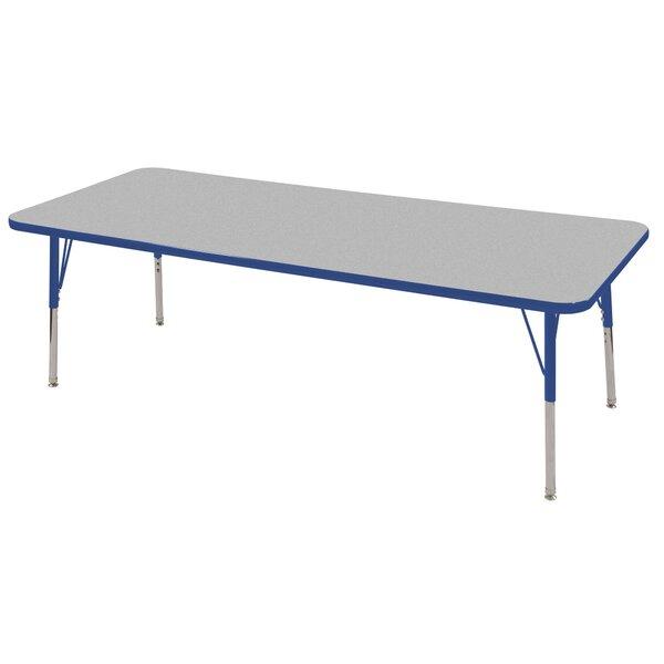 7 Piece Rectangular Activity Table & 18 Chair Set by ECR4kids