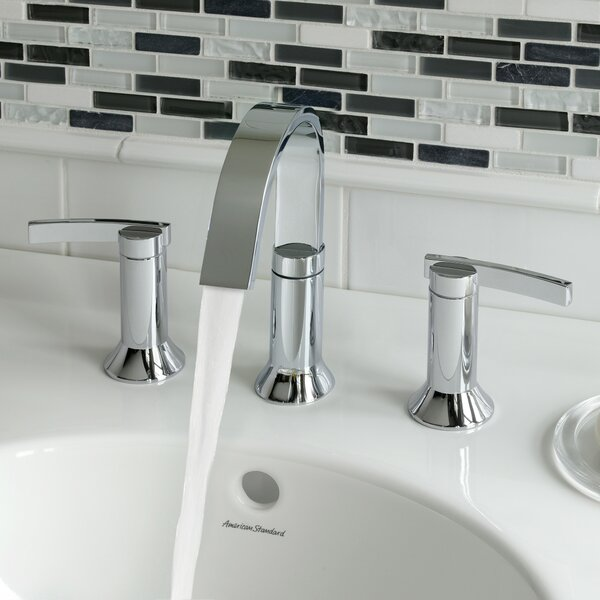 Berwick High Arc Widespread Bathroom Faucet with Speed Connect Drain by American Standard