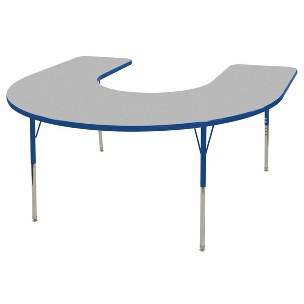 66 x 60 Horseshoe Activity Table by ECR4kids