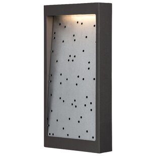 Best Bieber 1-Light Outdoor Flush Mount By Brayden Studio