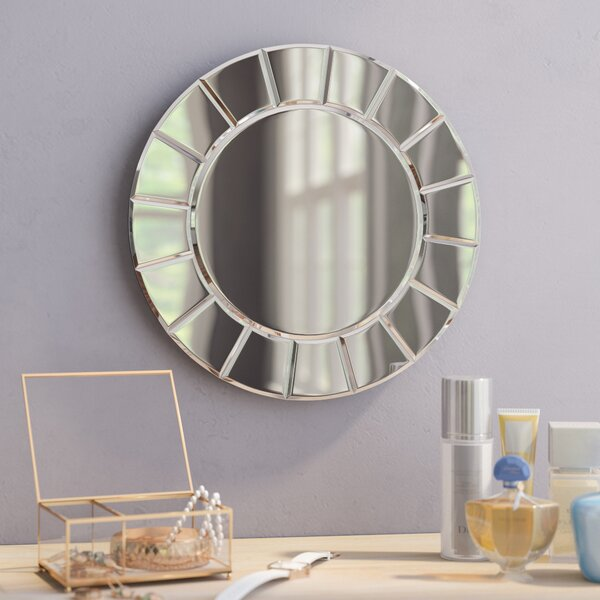 Tiled Wall Mirror by Wade Logan