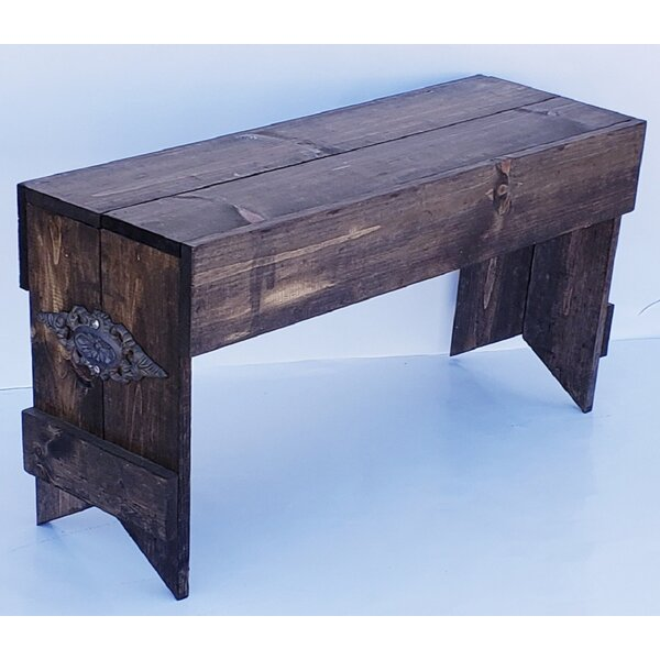 New Bedford Solid Wood Bench By Gracie Oaks