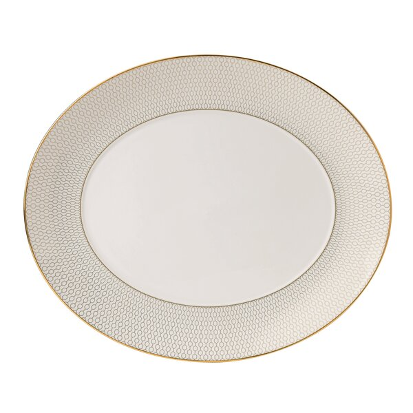 Arris Oval Serving Platter by Wedgwood