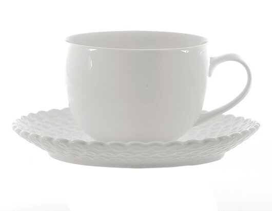 Momenti Teacup (Set of 6) by La Porcellana Bianca