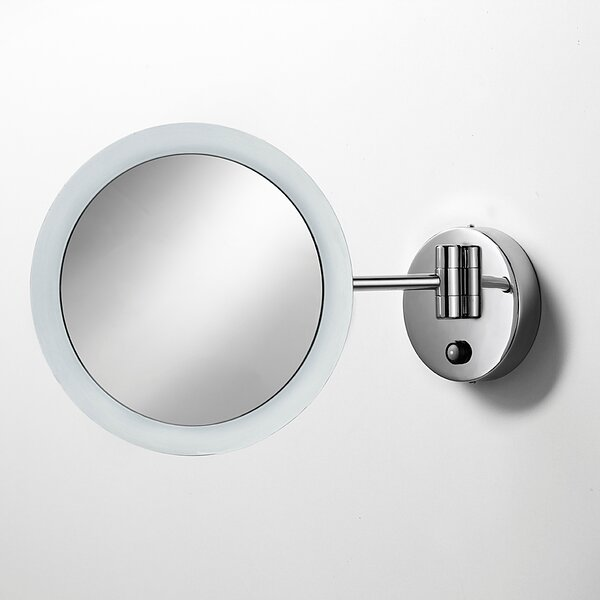 Mirror Pure Mevedo Twistable 3X Magnifying Makeup Mirror with Lighting by WS Bath Collections